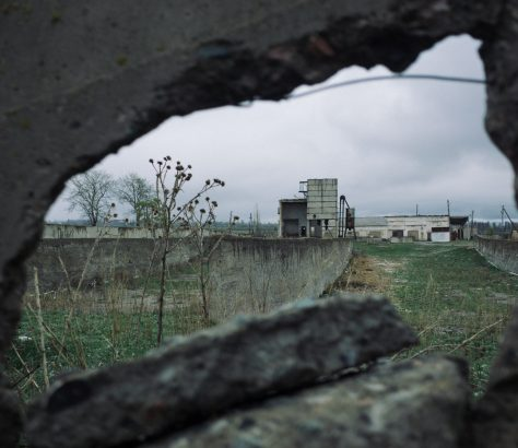 Kirgistan Grigoriewka Ruinen UdSSR