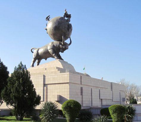 Turkmenistan Aschgabat Erdbeben Denkmal