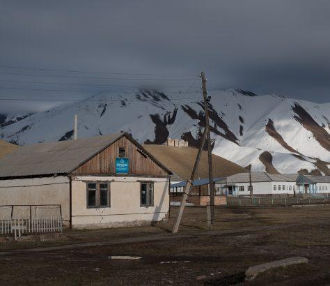 Kirgistan Dorf Haus Architektur