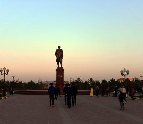 Samarkan Usbekistan Islam Karimow Denkmal