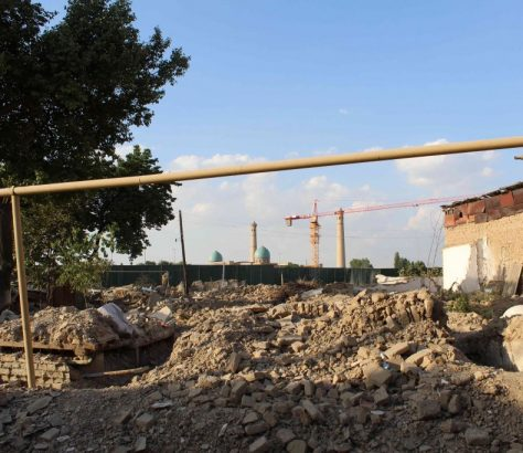 Zerstoerungen altes Taschkent