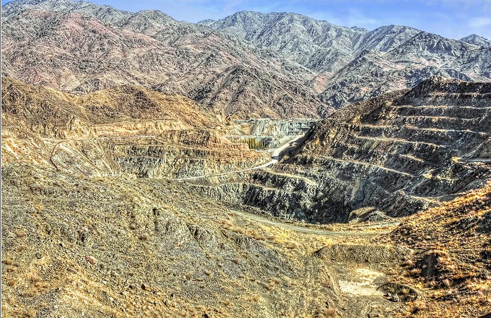 Tschadak Goldmine Usbekistan