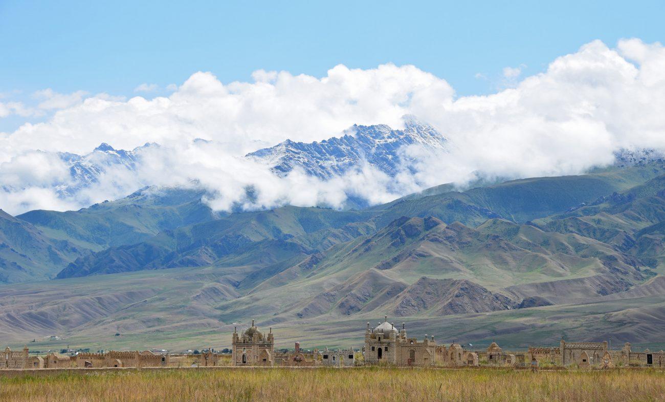 Friedhof At-Baschi Naryn Kirgistan