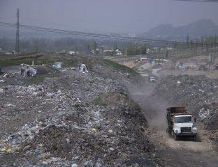 Mülldeponie bei Osch