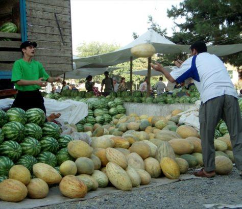 Melonen in Tadschikistan