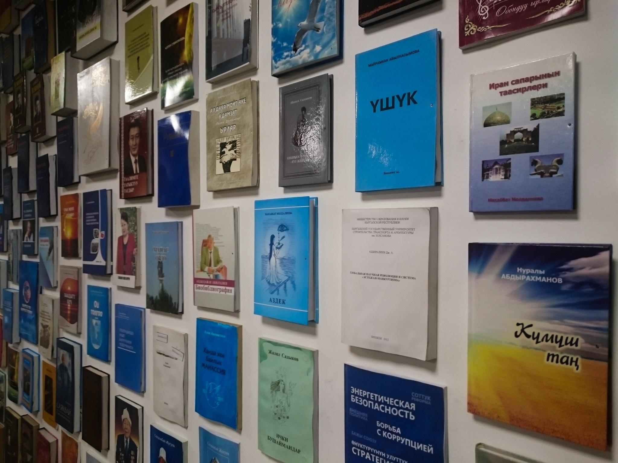 Bücher in der Bischkeker Radiostation
