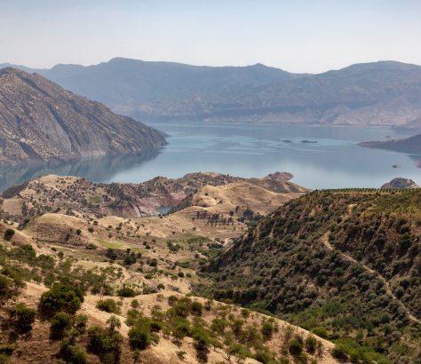 Nurek Staudamm Tadschikistan