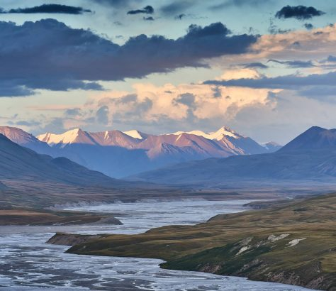 Kirgistan Landschaft Berge
