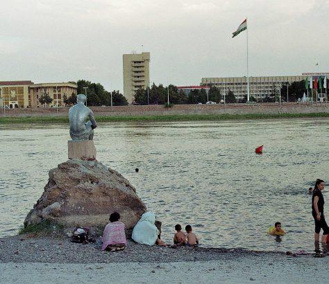 Bad im Syr-Darja