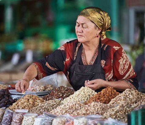 Handarbeit Basar Kirgistan Batken Ferghanatal
