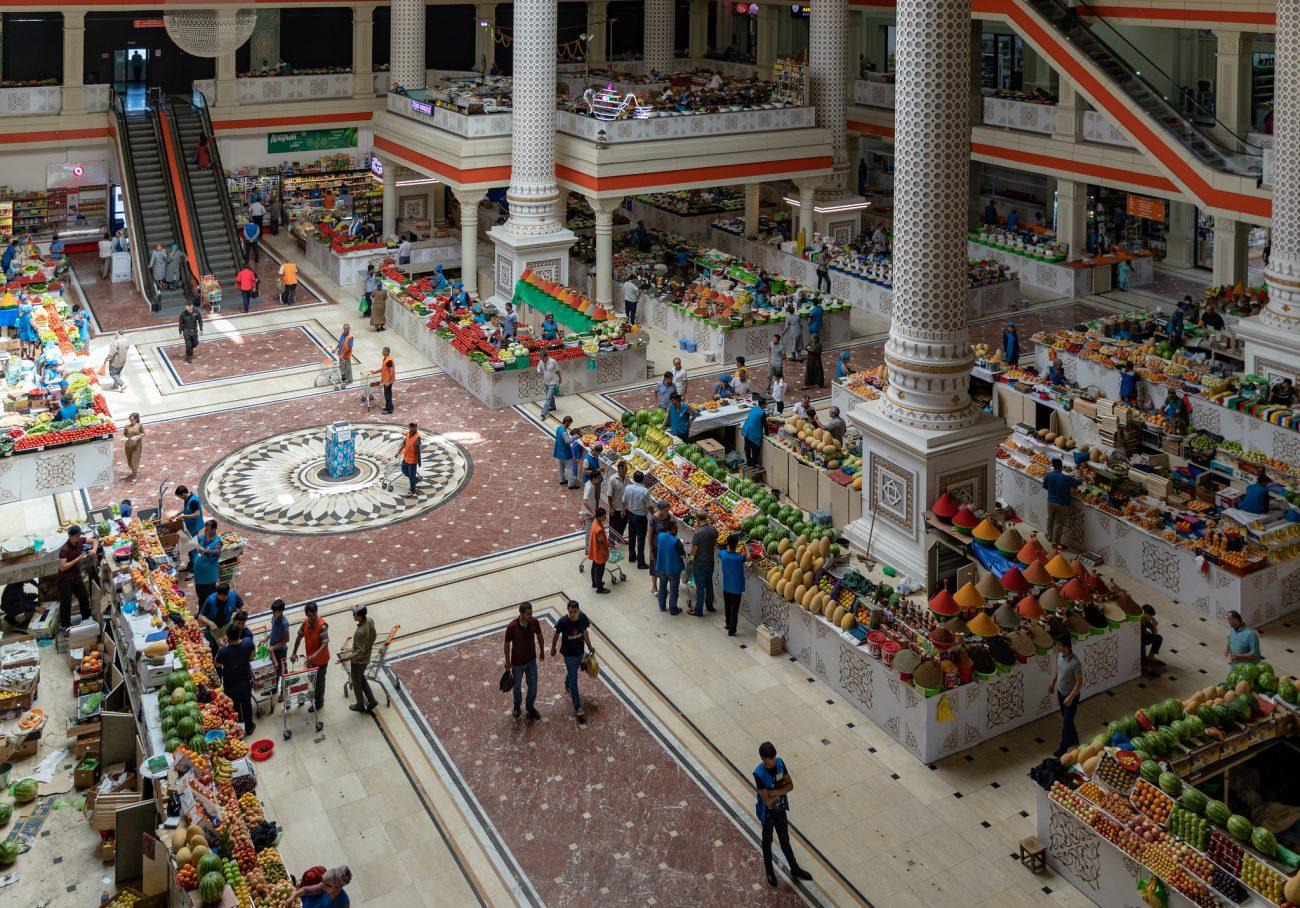 Mehrgon-Markt in Dushanbe