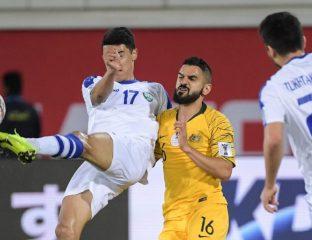 Australien Usbekistan Fussball Asienmeisterschaft
