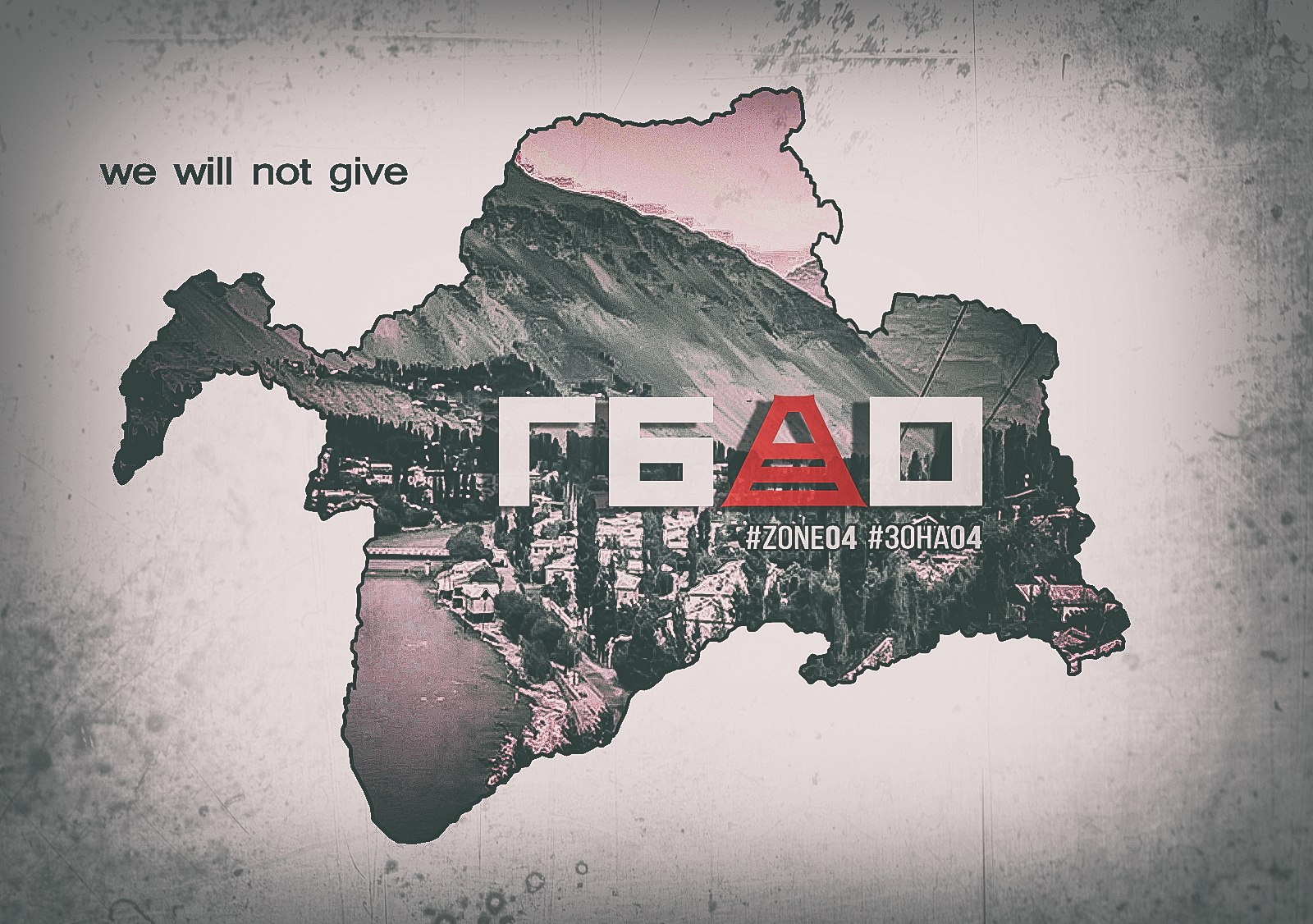 Berg-Badachschan politisches Plakat
