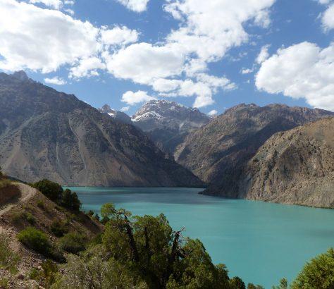 Iskanderkul-See in Tadschikistan