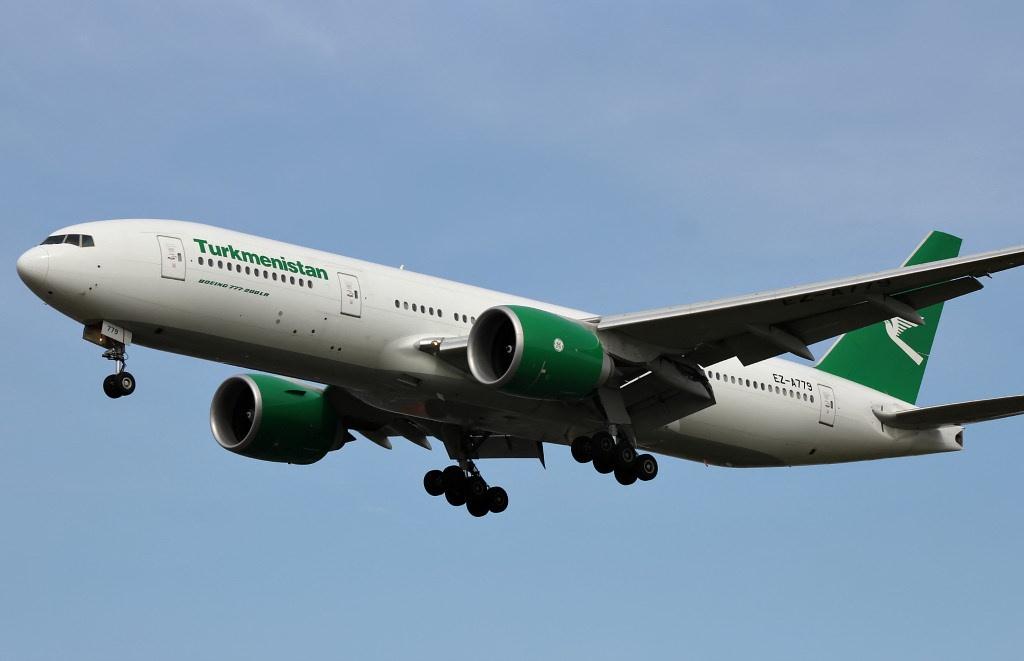 Boeing von Turkmenistan Airlines