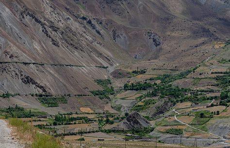 Tadschikistan Bild des Tages Grenze Militärisch Afghanistan