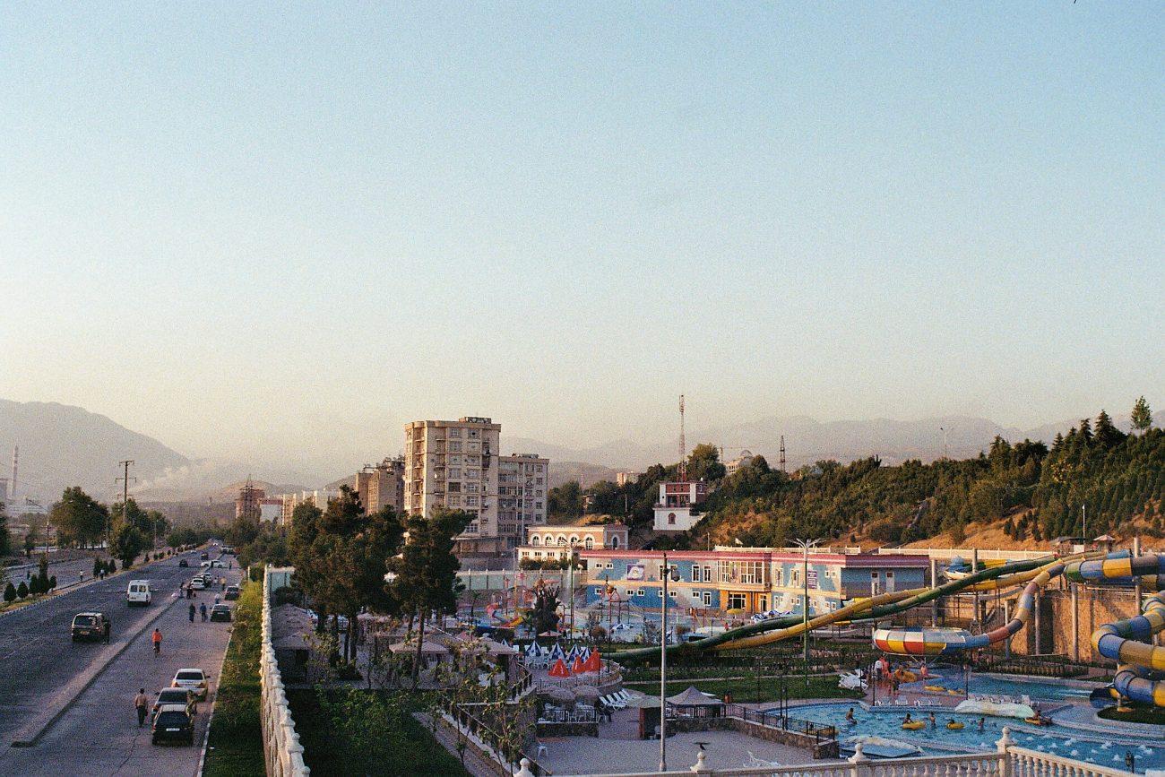 Tadschikistan Duschanbe Bild des Tages Aquapark Wärme