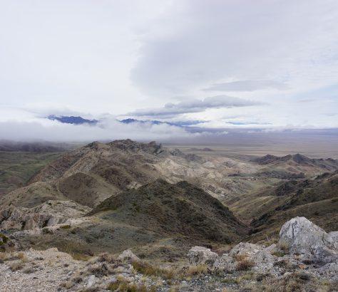 Altyn-Emel Kasachstan Gebirge