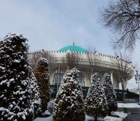 Timuriden-Museum Taschkent Usbekistan Architektur Schnee