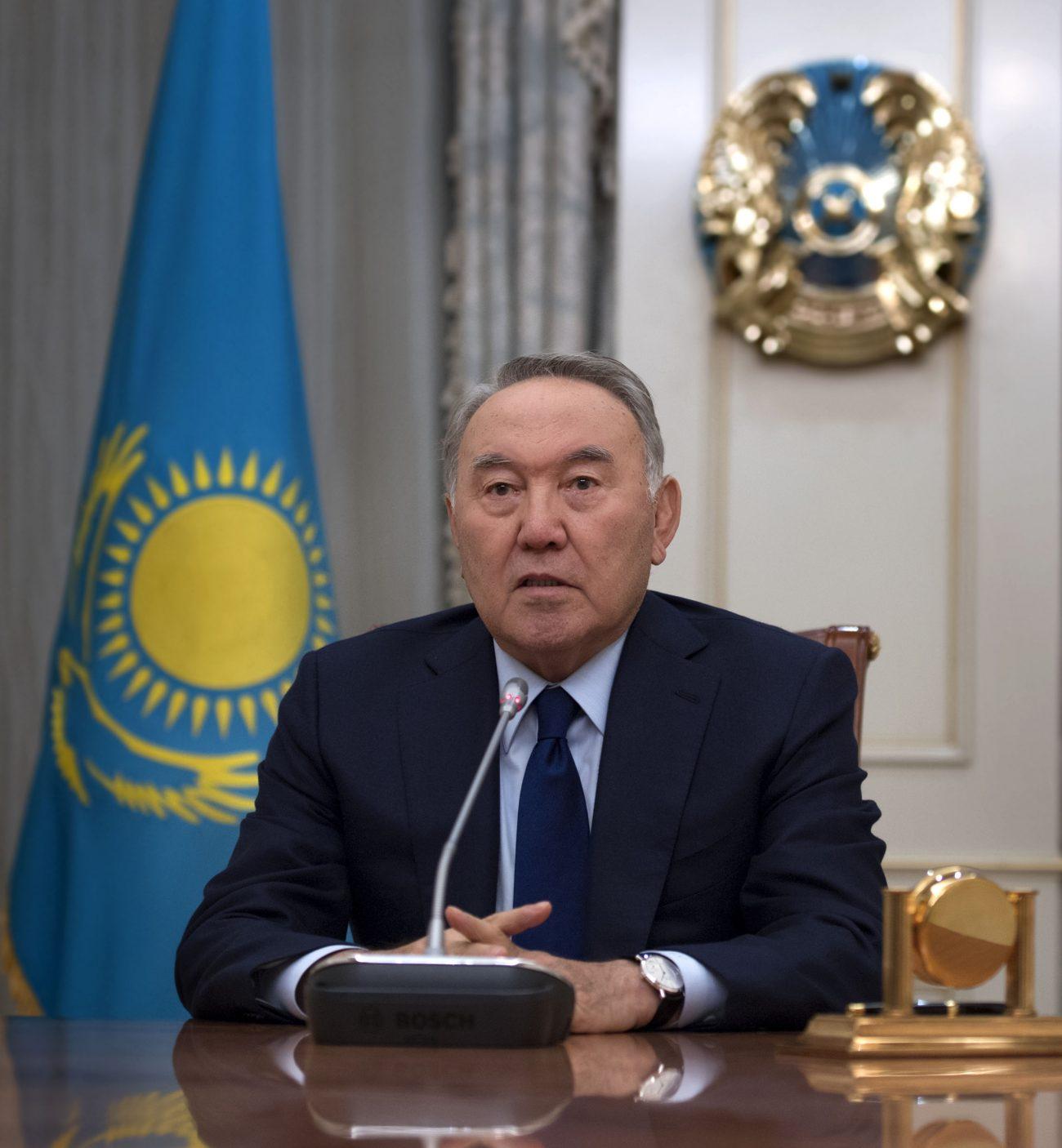 Präsident Nasarbajew