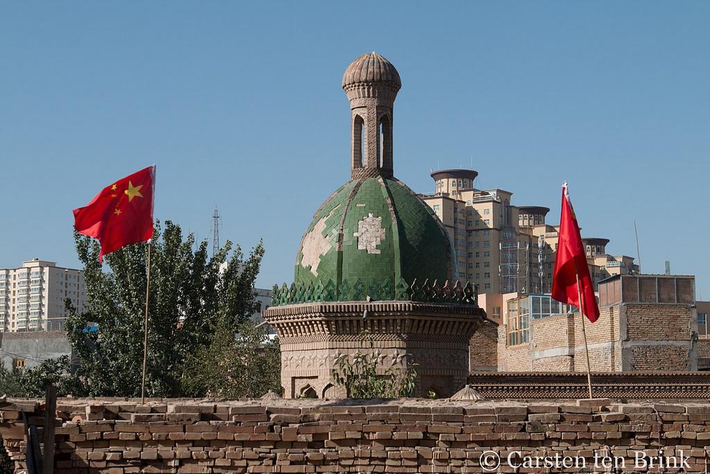 Kashgar an der kirgisch-chinesischen Grenze