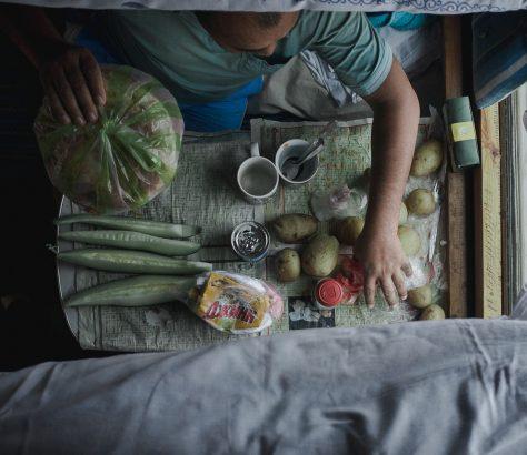 Mittagessen Kasachstan Bild des Tages Tien Tran