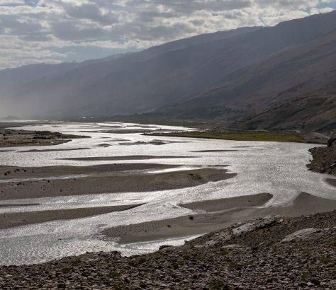 Pandsch Fluss Tadschikistan Wachsch Amudarja
