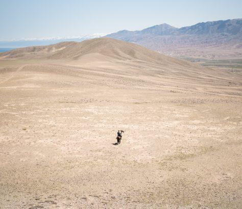 Wüsten um den Issikköl