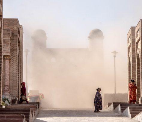 Sandsturm Hissor Tadschikistan Chanaka