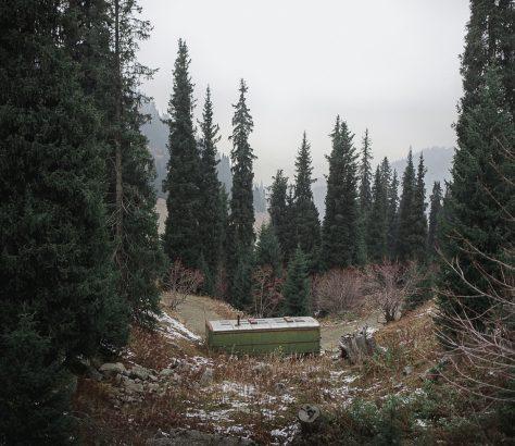 Gebirge Almaty Kasachstan Tien Tran