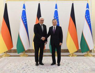 Steinmeier Besuch Usbekistan