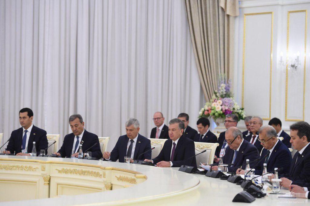 Usbekistan Besuch Steinmeier