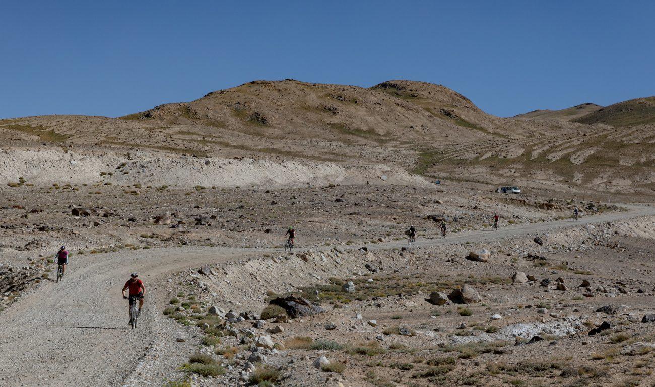 Mit dem Rad im Pamir unterwegs