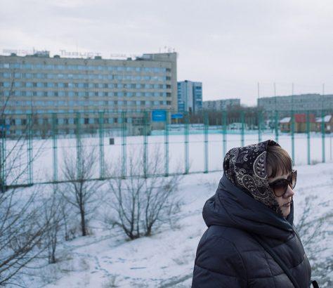 Semei Kasachstan Semipalatinsk Winter
