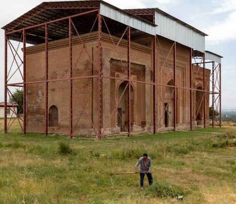 Die drei Mausoleen von Ösgön