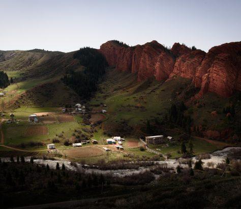 Wilder Westen in Kirgistan