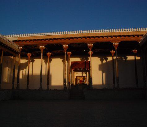 Festung Ark Buchara Usbekistan Bild des Tages