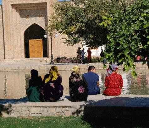 Pause Mausoleum Naqshbandi Buxoro Usbekistan Bild des Tages