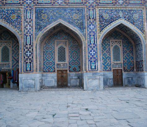 Mädresse Tilla-Qori Samarkand Usbekistan Bild des Tages