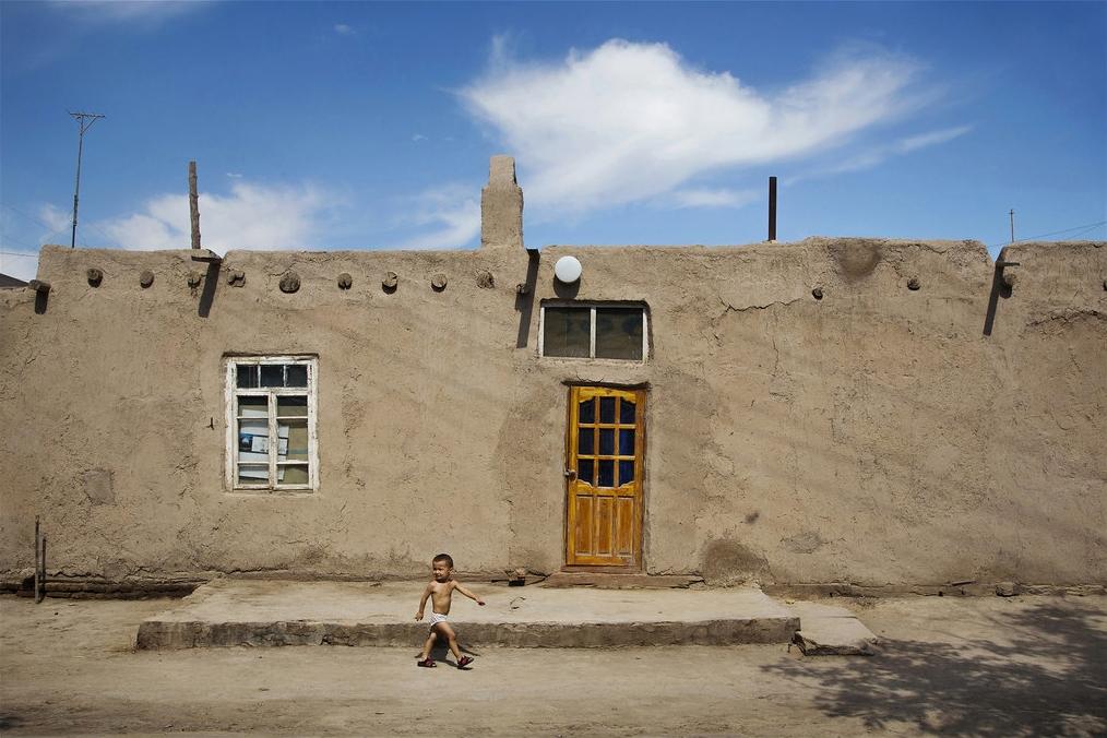 Gasse Xiva Usbekistan Bild des tages