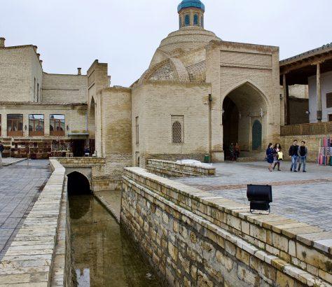 Labi-Hovuz Buchara Usbekistan Architektur