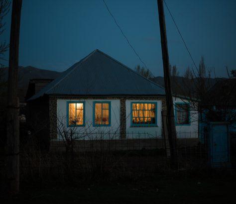 Dorf Halbdunkel Kirgistan Bild des Tages Antoine Béguier