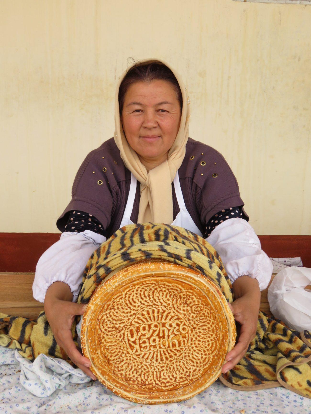 Brot Kokand Usbekistan Bild des Tages