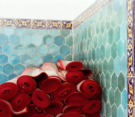 Buchara Usbekistan Gebet Teppiche Moschee
