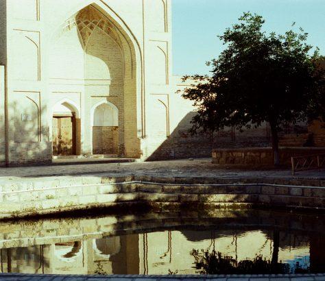 Wasserreservoir Buchara Usbekistan Wasser