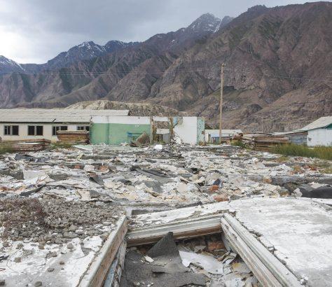 Mine Engilchek Yssykköl Kirgistan Bild des Tages