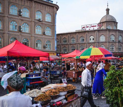 Kaschgar China Xinjiang Markt