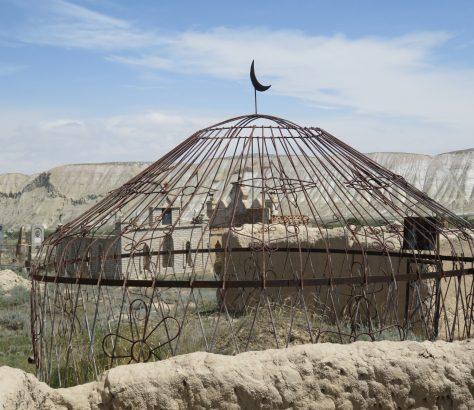 Jurte Kirgistan Friedhof