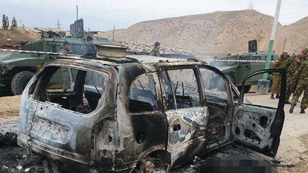 Attacke IS Tadschikistan Ischkobod Grenze
