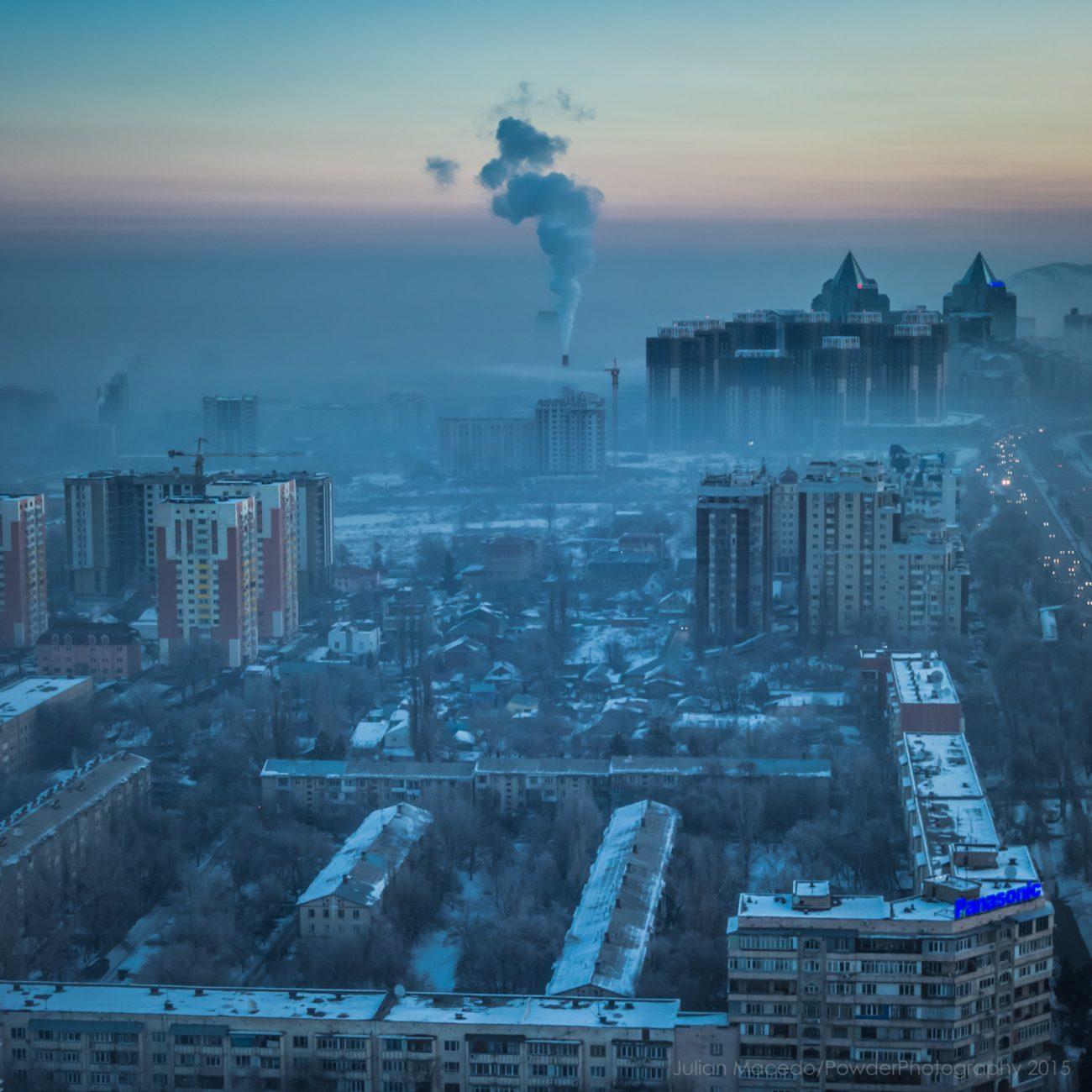 Almaty Luftverschmitzung